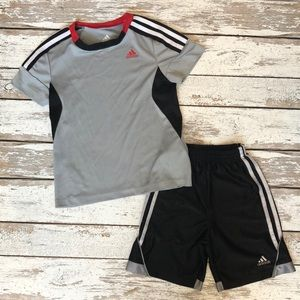 Boys adidas outfit 4-5